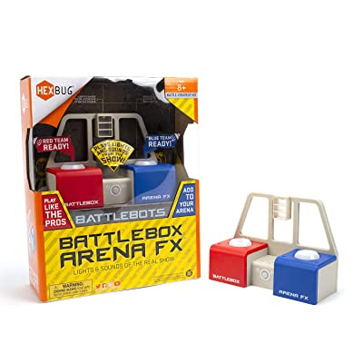 HEXBUG BattleBots Arena FX Module, Collectible Playset Piece (Blue/Red): Toys & Games
