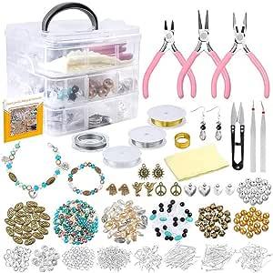 KAERMA Acryl Parel Kristal Gevormde Kraal Armband Hanger Sieraden Maken Set Armbanden en oorbellen sieraden accessoires Handgemaakte DIY sieraden