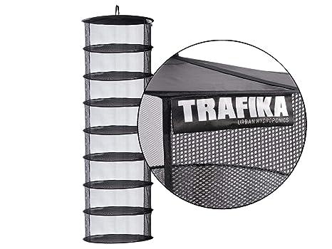 6e45d8089d3 TRAFIKA Malla Secado Tela Microperforada 8 módulos 55cm diámetro para  Cultivos hidropónicos
