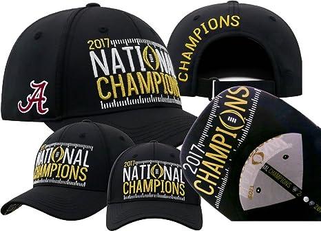 66c1fa2c3f5 Image Unavailable. Image not available for. Color  Elite Fan Shop Alabama  Crimson Tide National Champs Hat Black Phenom (2017 National Championship)