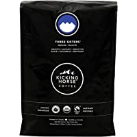 Kicking Horse Coffee, Three Sisters, Medium Roast, Whole Bean, 1 kg - Certified Organic, Fairtrade, Kosher Coffee