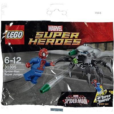 LEGO Marvel Super Heroes Spider-Man Polybag Set - Super Jumper (30305): Toys & Games