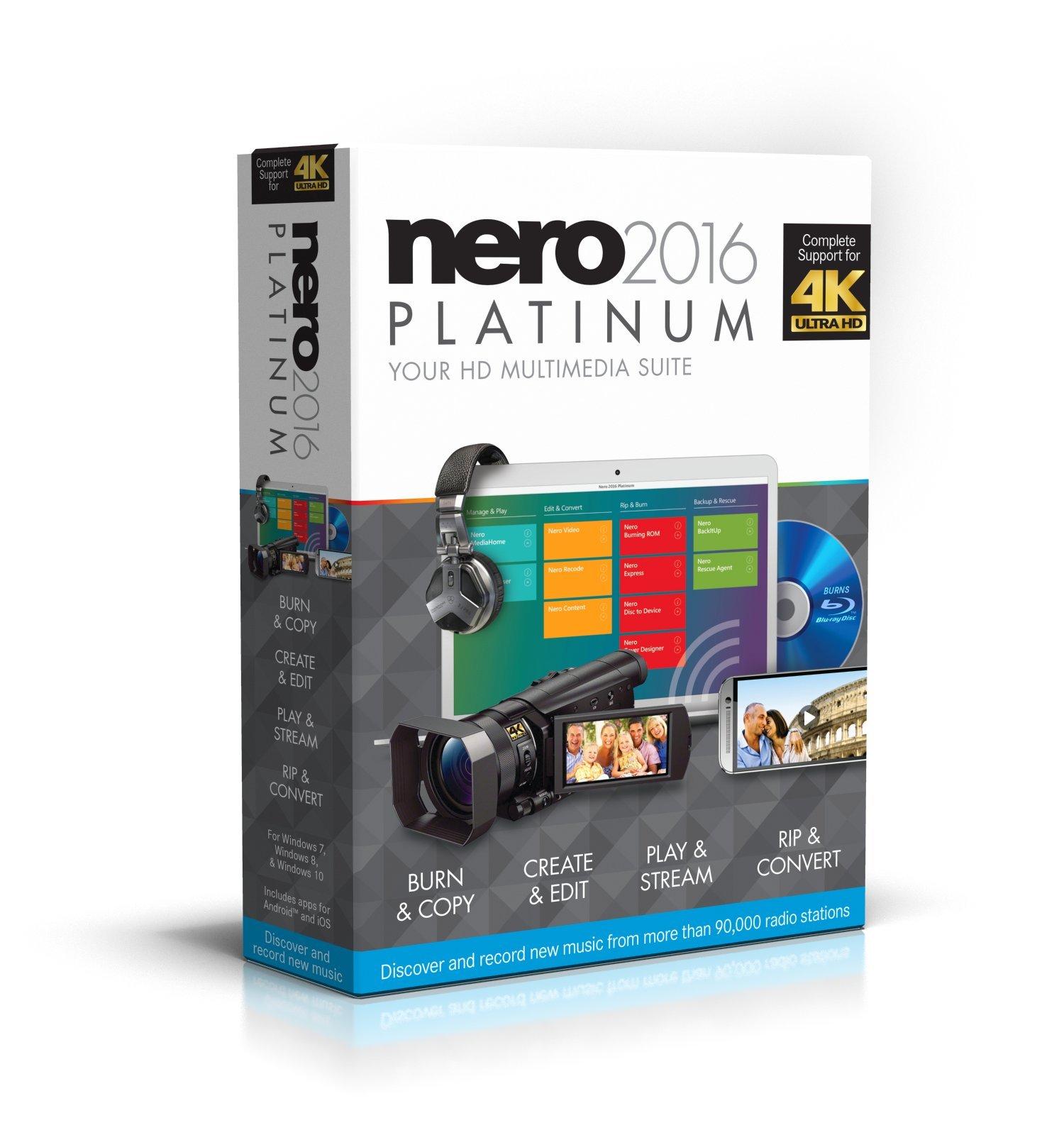 Nero 2016 Platinum [OLD VERSION] by Nero