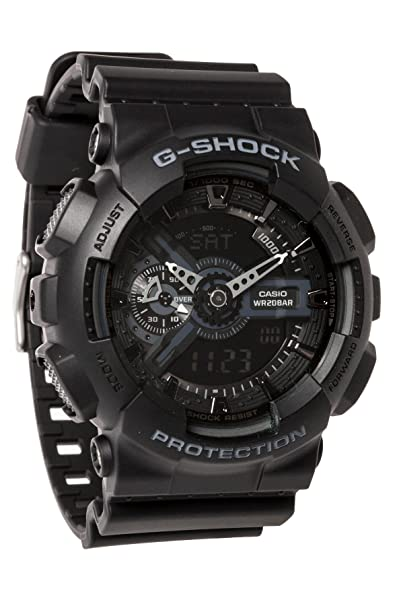 G-Shock Mens Military GA-110 Watch Black: Amazon.es: Relojes