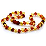 Baltic Amber Necklace Length - 32 - 33 (cm)