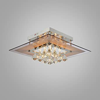 OOFAY LIGHTR Modern Crystal Ceiling Light Simple And Elegant 5