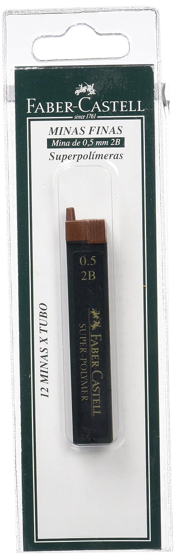 Faber Castell B B Blíster tubo de minas  mm B color