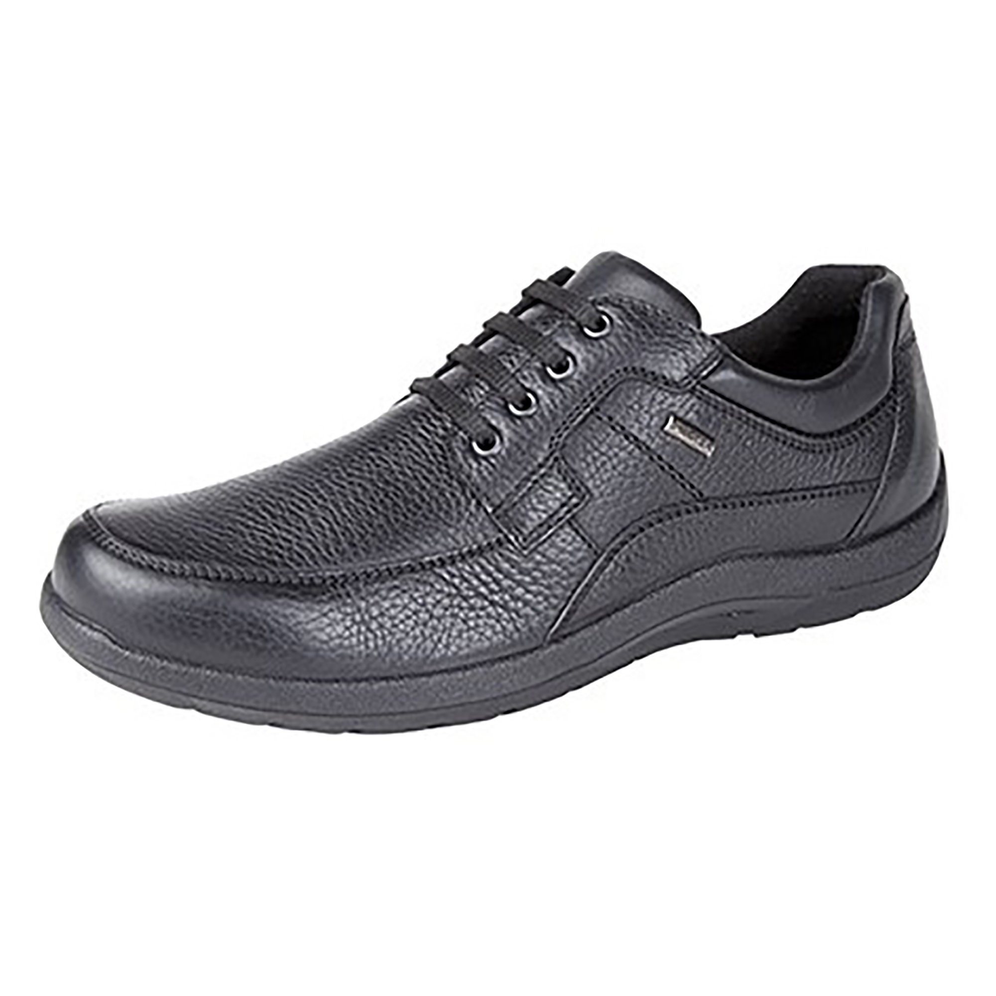 Imac Mens Waterproof Lace Up Casual Shoes (9 US) (Black)