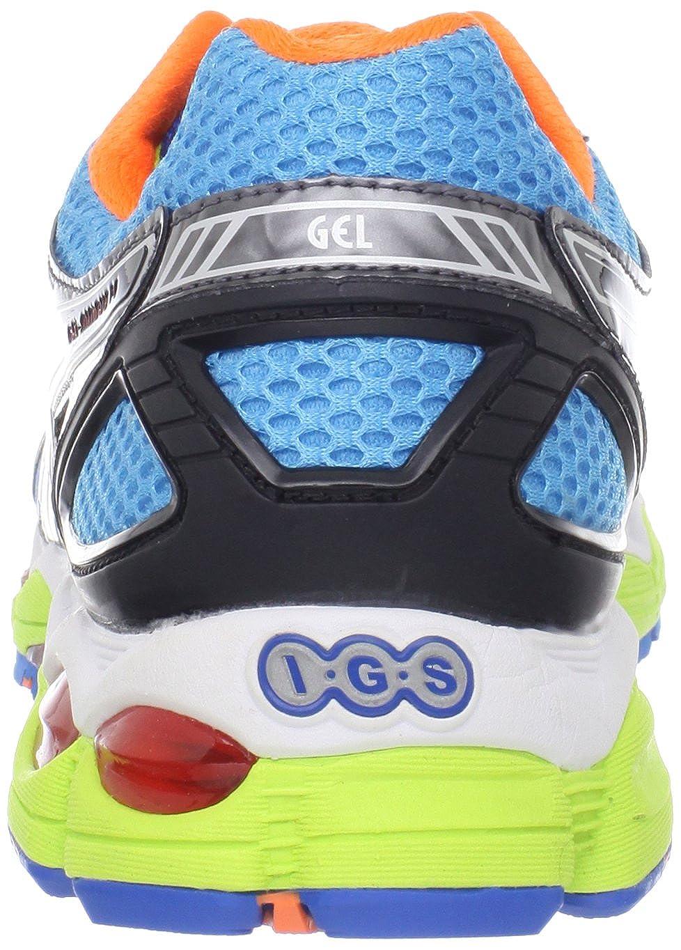 1a14296f63c5 ASICS Gel-NimbUK 14 Men s Sneakers In Lite Bright Black (T241N-6990)   Amazon.co.uk  Shoes   Bags