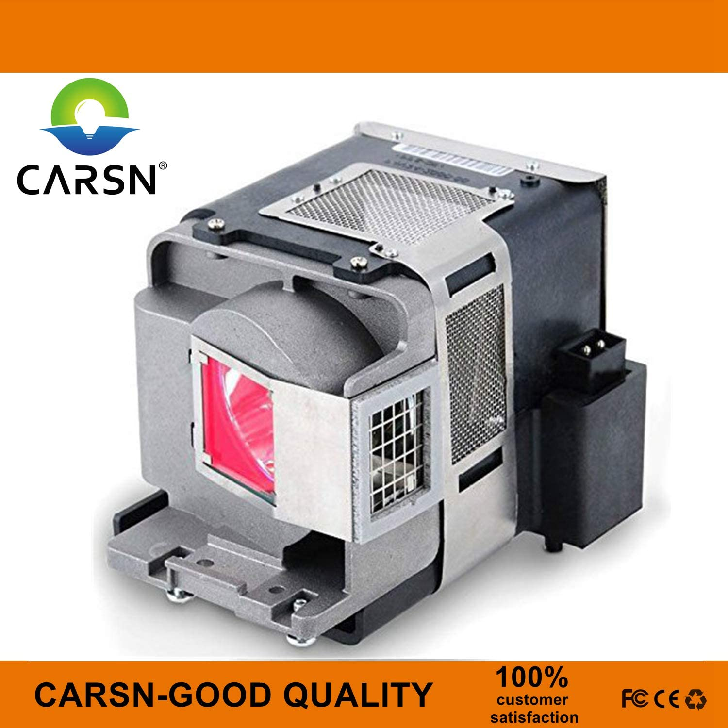 VLT-HC7800LP Replacement Projector Lamp for Mitsubishi HC7800 HC7800D HC7800DW HC7900DW HC8000 HC8000D HC8000D-BL Lamp with Housing by CARSN