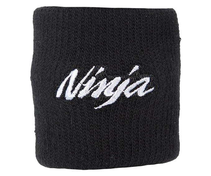 Kawasaki Wrist Band Sudor Banda Ninja. Negro