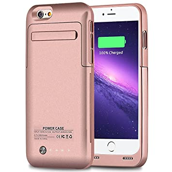 iphone 6 rose gold charger case