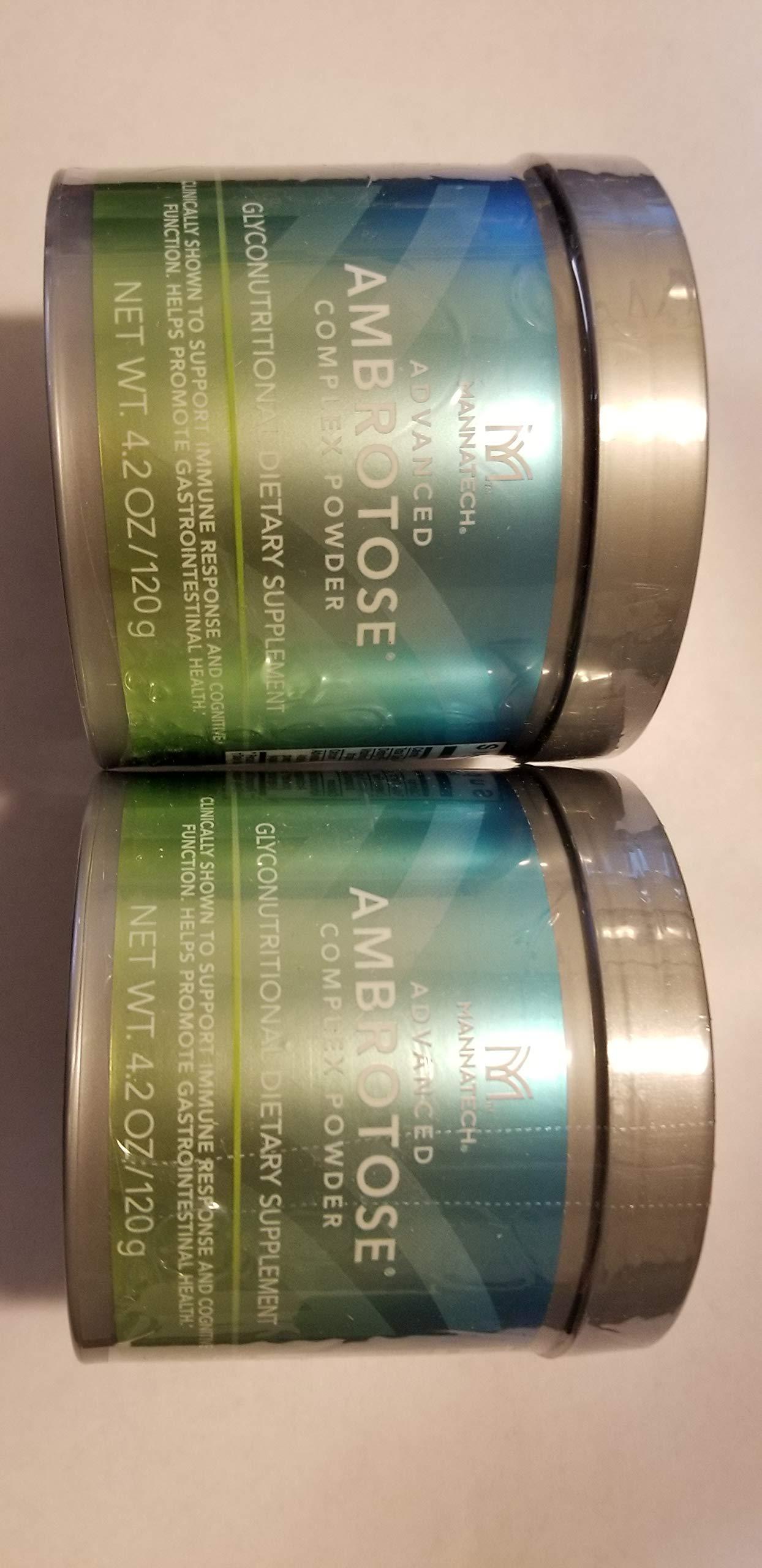 Lots of 2 Mannatech Advanced Ambrotose 120g Powder