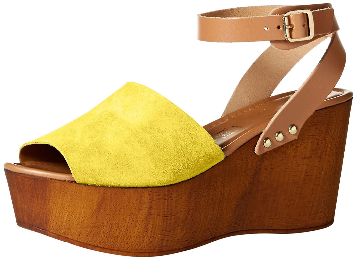 Seychelles Women's Forward Wedge Pump B0756LNLK3 9.5 B(M) US|Yellow