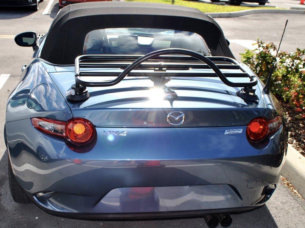 Mazda Miata ND Trunk Rack Unique Design No Clamps No Straps No Brackets No Paint Damage