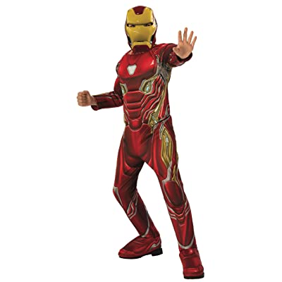 Rubie's Marvel Avengers: Endgame Deluxe Iron Man Mark 50 Child's Costume & Mask: Toys & Games