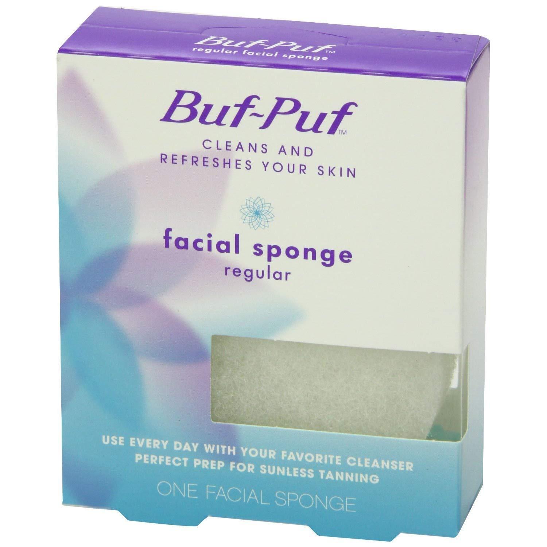 Buf-Puf Regular Facial Sponge 1 Each (Pack of 12)