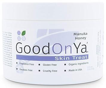 Manuka Honey Face Moisturizer with Coconut Oil, Cocoa Butter, Aloe Vera,  Vitamin E and Vitamin C -
