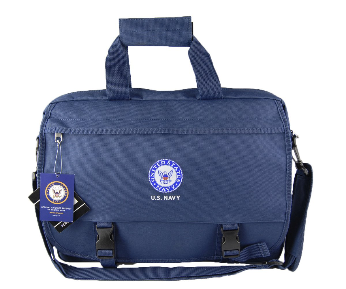 U.S.NAVY Official Licensed Product Military Blue Laptop Messenger Bag good