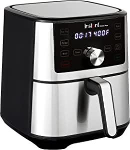 Instant Vortex Plus 6-in-1 Air Fryer, Broiler, Roaster, Dehydrator, plus Baking and Reheating, 4QT