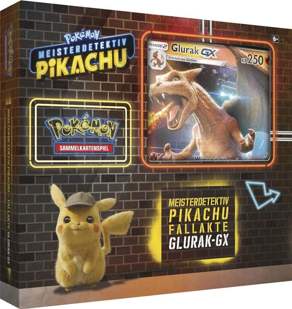 Pokemon 45105 PKM Movie Glurak-GX Box, bunt: Amazon.de: Spielzeug
