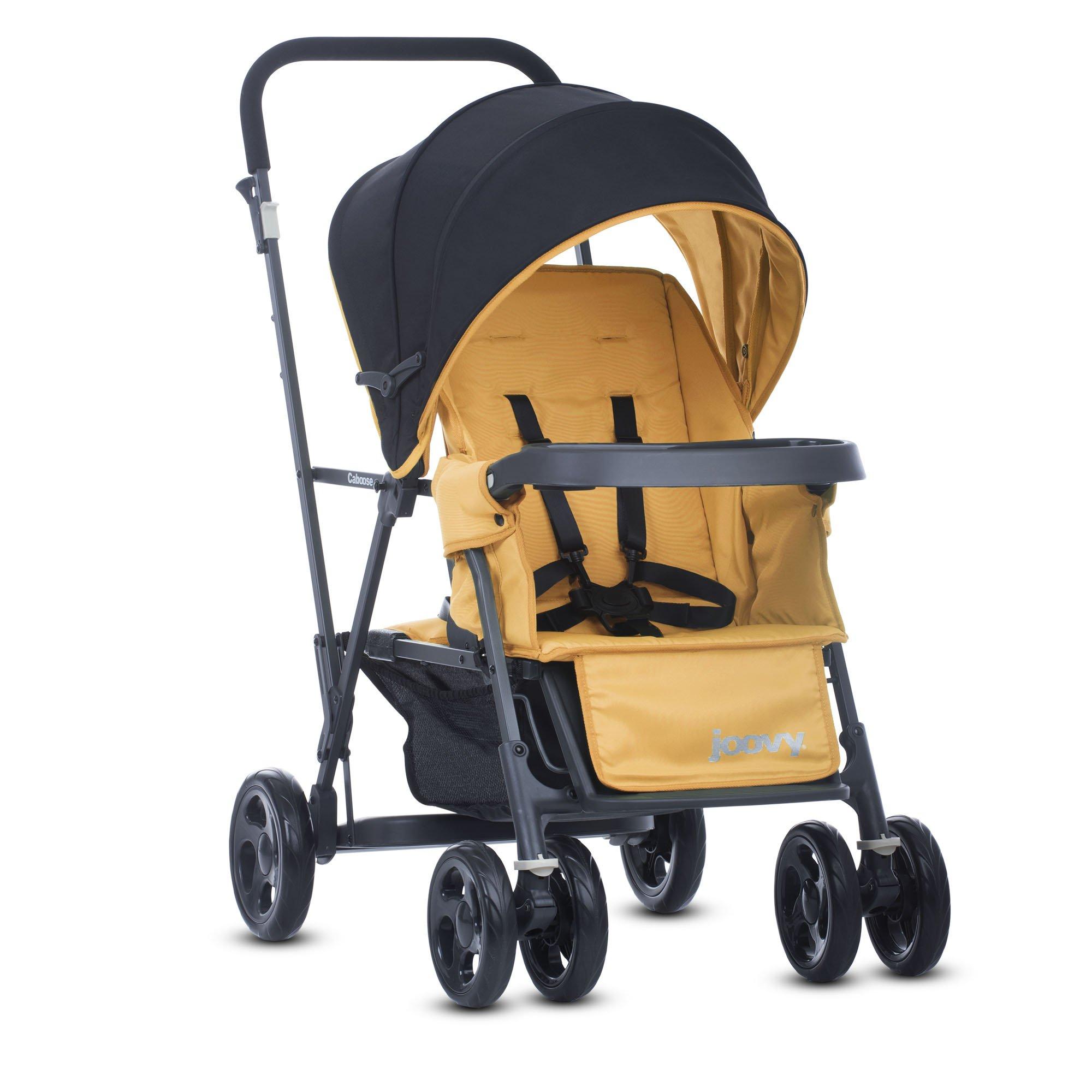 Joovy Caboose Graphite Stand On Tandem Stroller, Amber