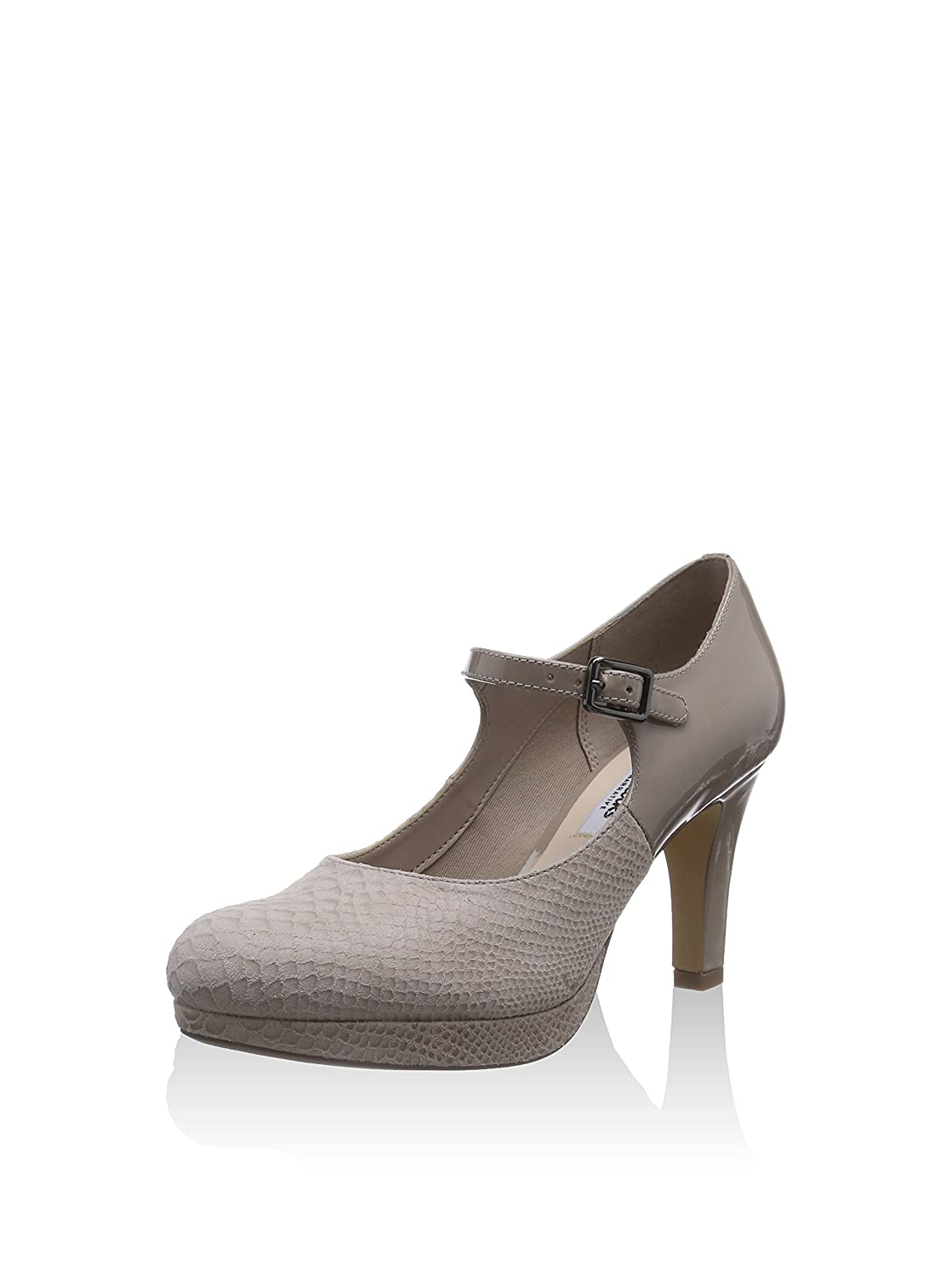 NEW CLARKS  NARRATIVE KENDRA GABY BROWN LEATHER COURT SHOES SIZE 5 5.5 /& 6