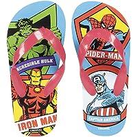Avengers Chanclas para Niños, Clásicas y Ligeras, Diseño Los Vengadores, Sandalias de Verano para Niños, Regalo para…