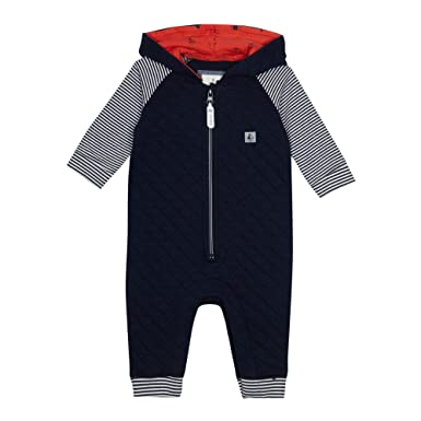 6a4320365fa8 Debenhams J by Jasper Conran Kids Baby Boys  Navy Quilted Romper ...