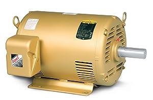 BALDOR EM31157 Small Motor Rule, Three Phase, Open Drip Proof, Foot Mounted, General Purpose Motor, 2 hp, 1750 RPM, 3PH, 60 Hz, 56H, 3530M, ODP, F1, N, 208-230/460V, Steel