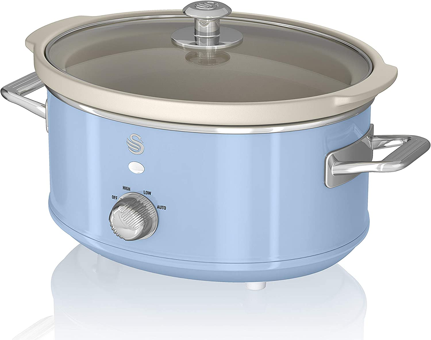 Swan SF17021BLN 3.5L Slow Cooker Blue