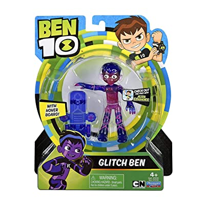 Ben 10 Glitch Basic Figure: Toys & Games
