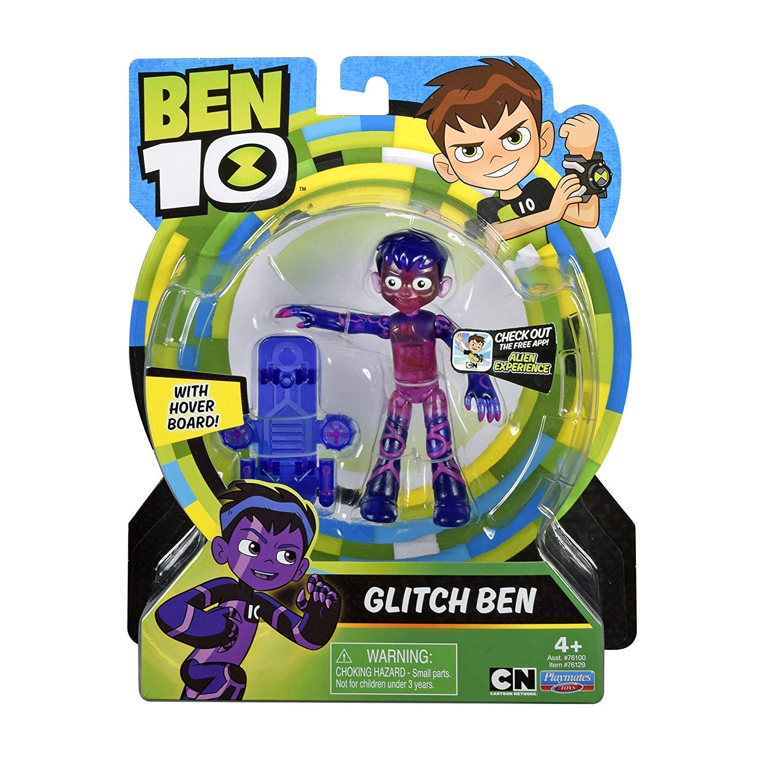 "RARE BEN 10 TEN CHARACTERS ACTION FIGURES SMALLER 4/"" TOY"