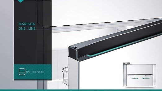 Hisense RT267D4AD1 - Frigorífico doble puerta, 205 litros, 40 decibelios, plateado: Amazon.es: Grandes electrodomésticos