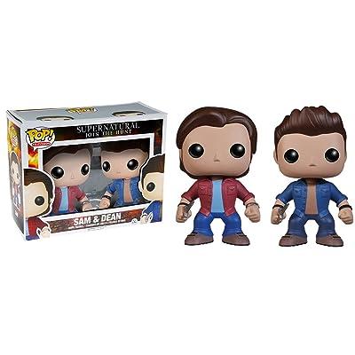 Funko - Figurine Supernatural - Sam & Dean Pop 10cm - 0849803050474