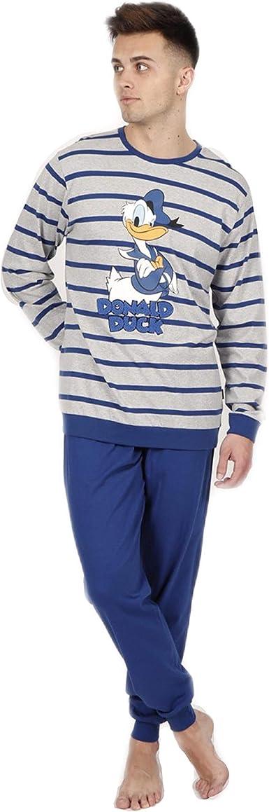 Pijama Hombre Disney 54224-O Talla XL Donald Duck
