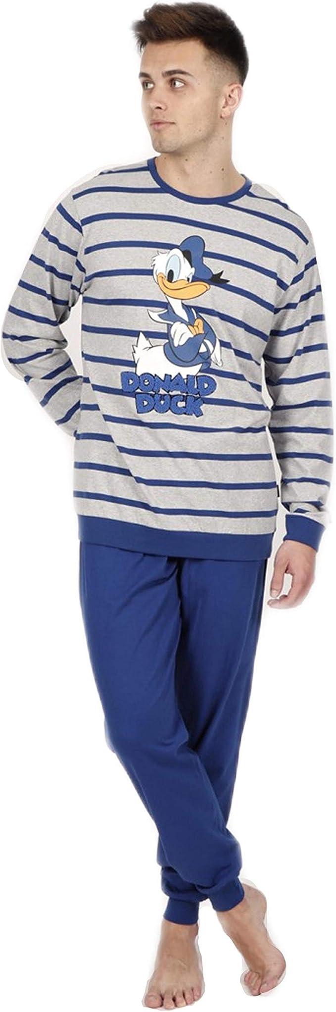 Pijama Hombre Disney 54224-0 T-XXL Donald: Amazon.es: Ropa y ...
