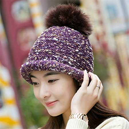 a463a10363c Girlfriend boyfriend Holiday gifts A woman s hat and female autumn and winter  hat