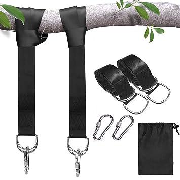 2 x Swing Hanging Gurt Kit Schaukel Befestigung 150cm Baumgurt Hängematte Neu DE