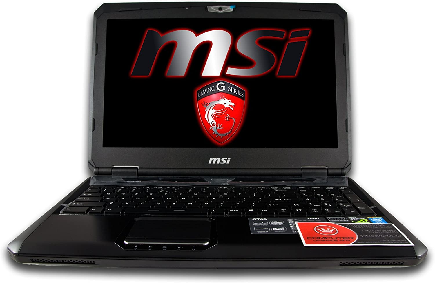 "MSI GT60 Dominator 424 15.6"" i7-4800MQ 16GB 1TB 7200rpm Nvidia GTX 870M 3GB Full HD W8.1 Notebook"