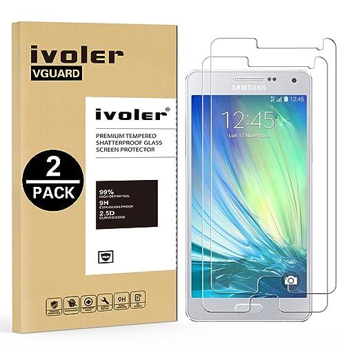 44 opinioni per [2 Pack] Pellicola Vetro Temperato Samsung Galaxy A5 2015, iVoler® **