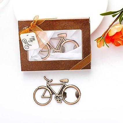 Bike Bottle Opener Regalos de ciclismo para Hipsters Decoración de bicicletas Regalo de cumpleaños para ciclista Bicicleta Abridor de cerveza en caja ...