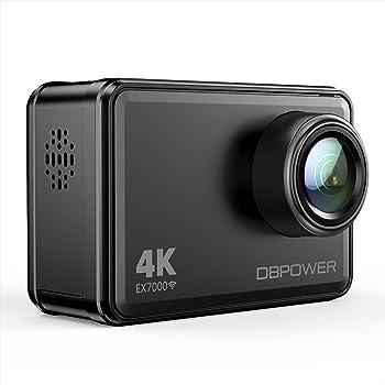 DBPower EX7000 4K Sports Action Camera Kit