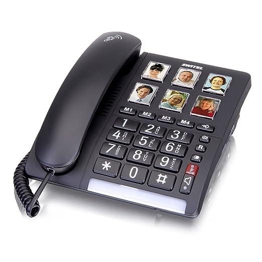 schnurgebundenes Großtastentelefon für Senioren