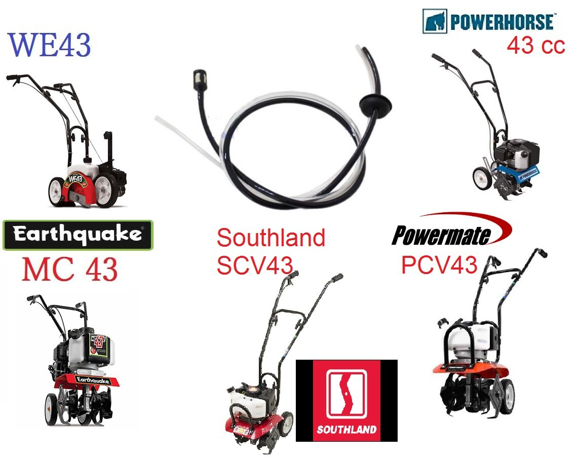 Earthquake Mc43 We43 Fuel Line 3004105 300490 Powerhorse Engine Wiring Diagram Garden Outdoor