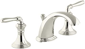 Kohler Devonshire K 394 4 Sn 2 Handle Widespread Bathroom Faucet