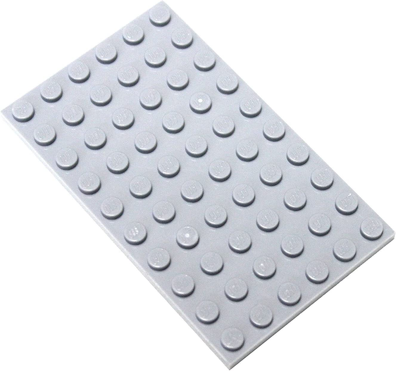 LEGO Parts and Pieces: Light Gray (Medium Stone Grey) 6x10 Plate x10