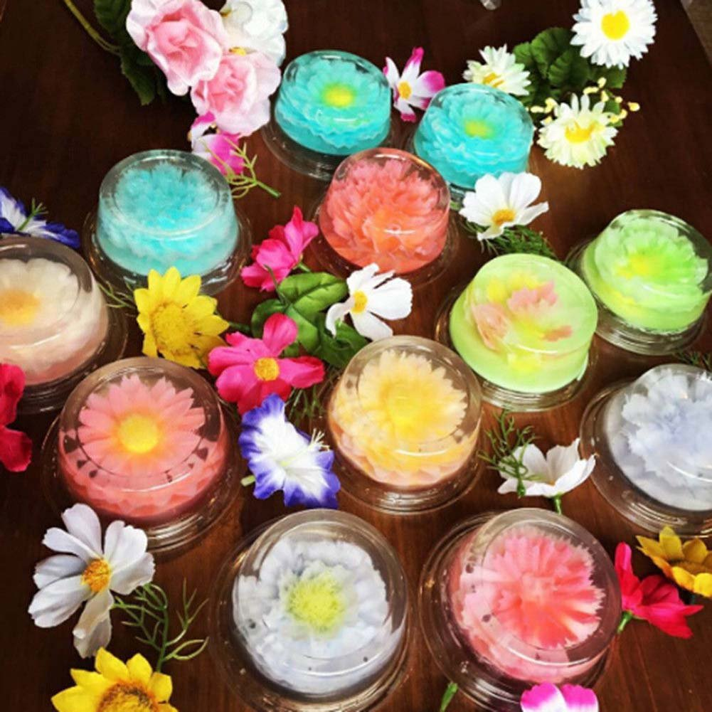 Espeedy Boquillas de gelatina,Jelly Art Tools,11 Unids / set 3D Jelly Pudding Flores Herramientas de Arte Pasteles de Pastelería de Acero Inoxidable Jeringa ...