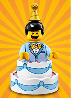 LEGO Series 18 BIRTHDAY CAKE GUY Minifigure 10 17