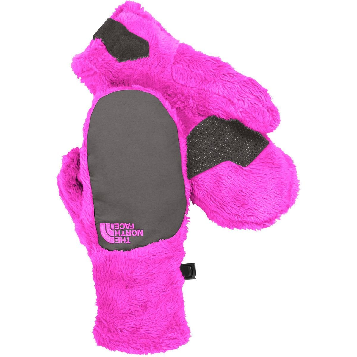 The North Face Denali Thermal Mitten - Girls' Luminous Pink/Graphite Grey, M CE53